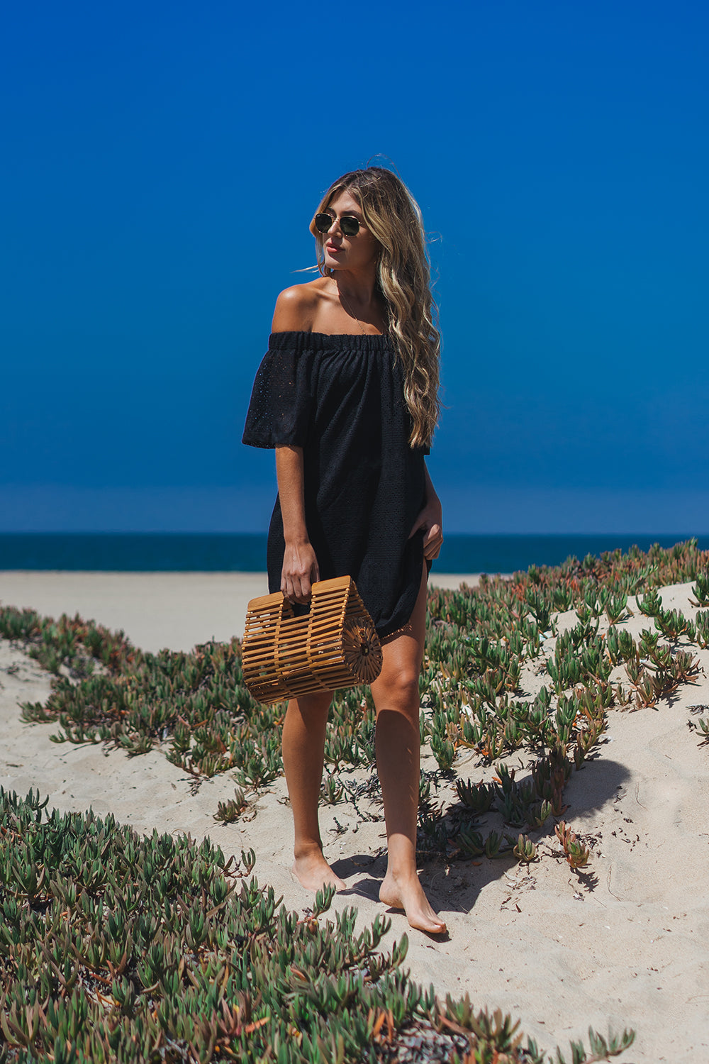 La Jolla Off The Shoulder Dress