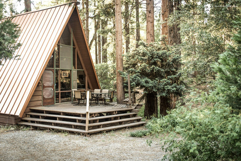 Unique A-Frame Cabin in the Mountains of San Jacinto, Southern California