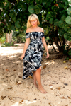 Waikiki Off The Shoulder Ruffle Dress