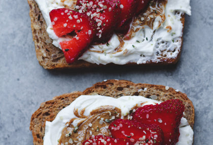 Strawberry Super Butter Toasts