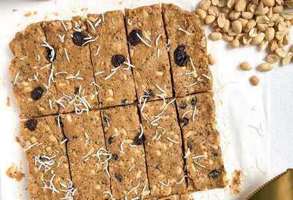 No-Bake Peanut Butter Energy Bars