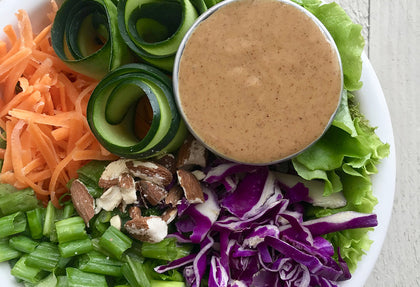 Ginger Almond Butter Dressing