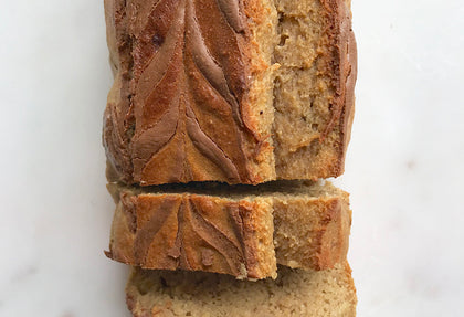 Nut Butter Lovers Banana Bread