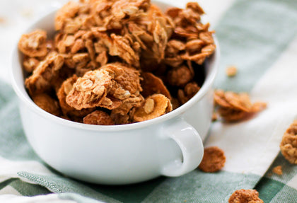 Maddies All-Time favorite recipe: Peanut Butter Granola!