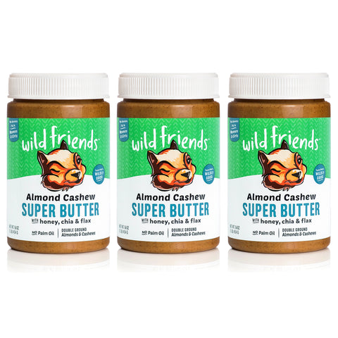 3-Pack Almond Cashew Super Butter