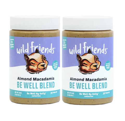 Be Well Almond Macadamia 2-Pack
