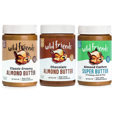 Variety 3-Pack Almond Butter