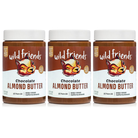 3-Pack Chocolate Almond Butter