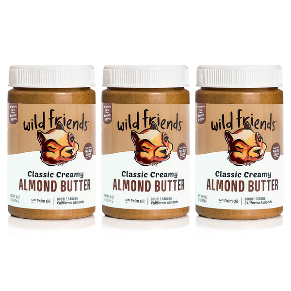 3-Pack Classic Creamy Almond Butter