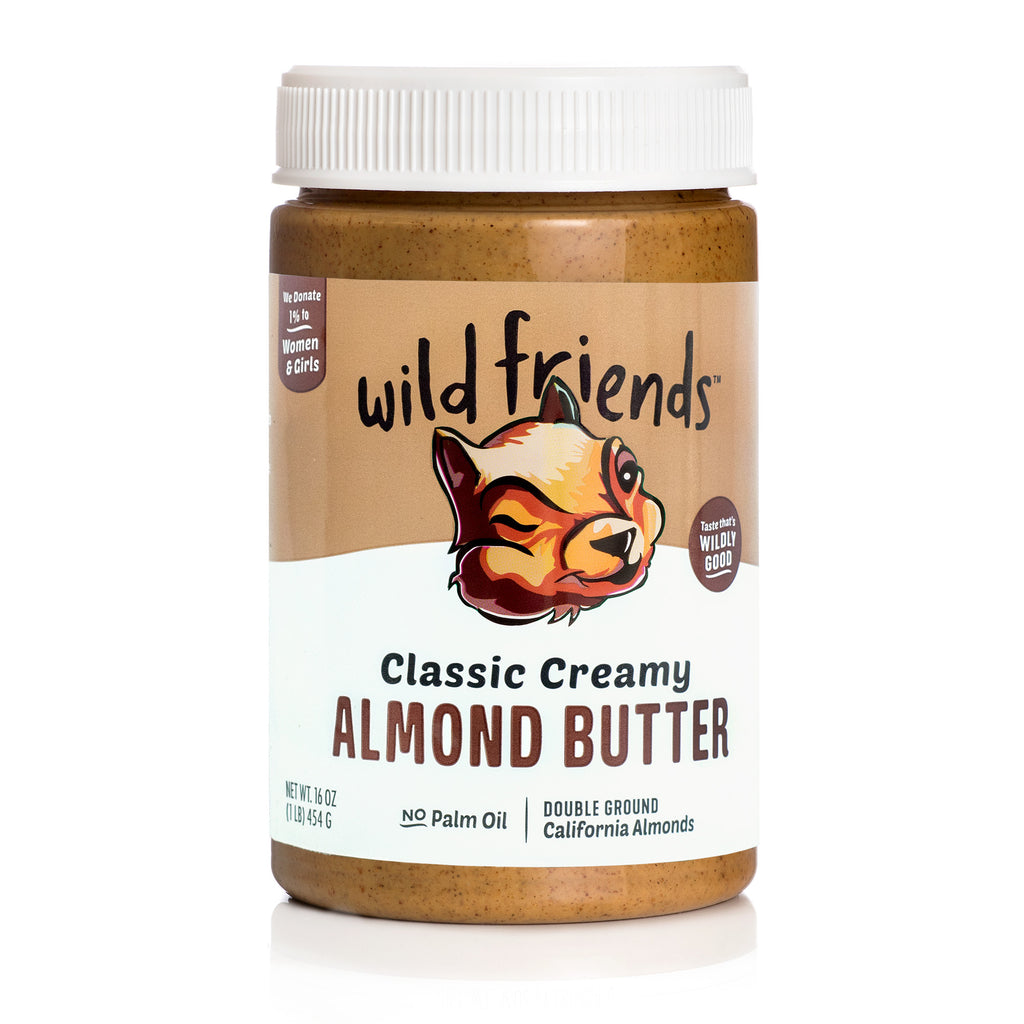 3-Pack Classic Creamy Almond Butter - Wild Friends Foods – wild ...
