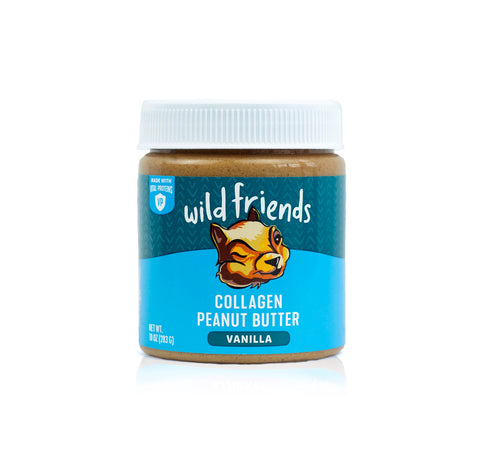 Vanilla Collagen Peanut Butter - Single Jar