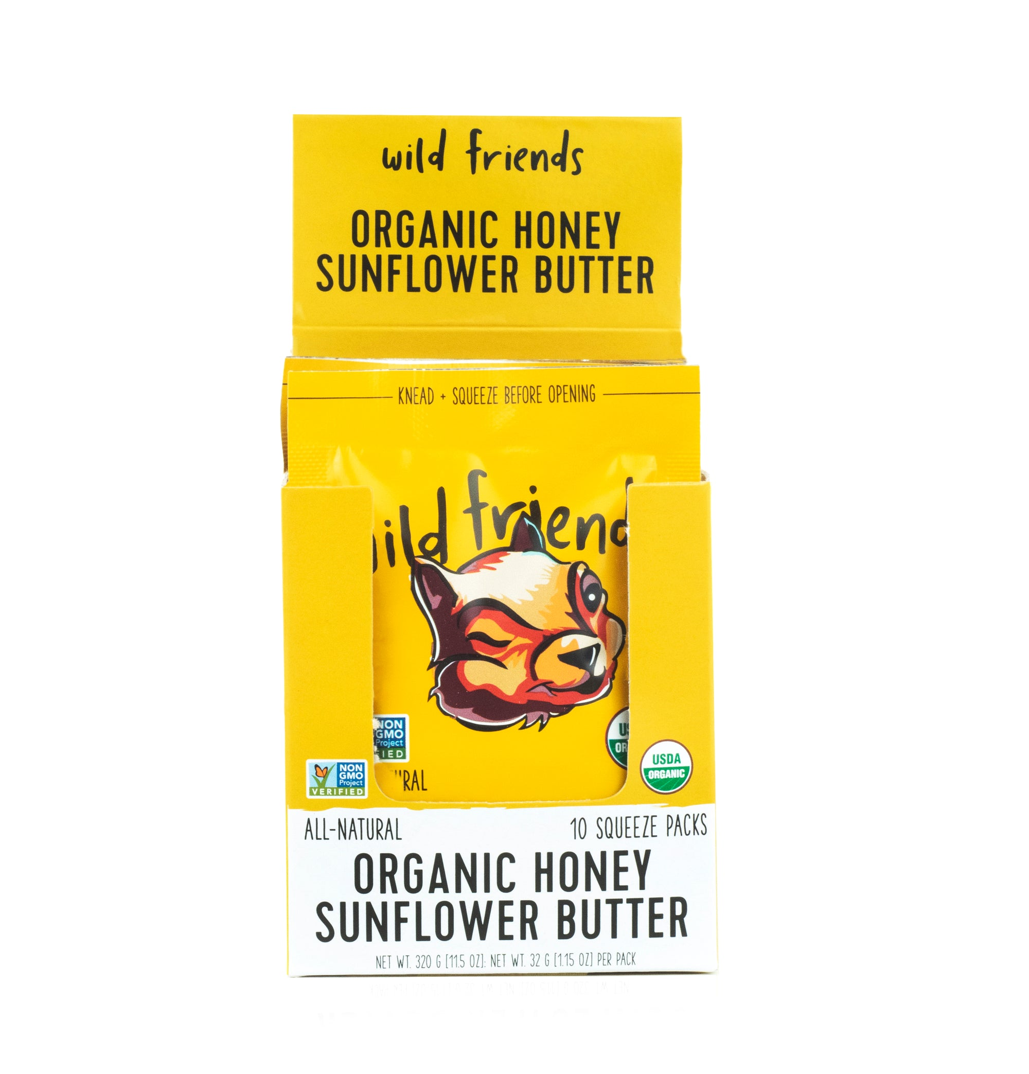 3-Pack Organic Honey Sunflower Butter
