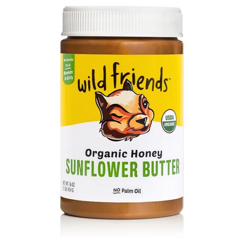 Organic Honey Sunflower Butter - Single Jar