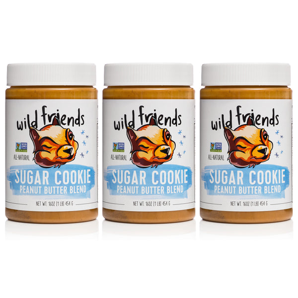 3-Pack Sugar Cookie Peanut Butter