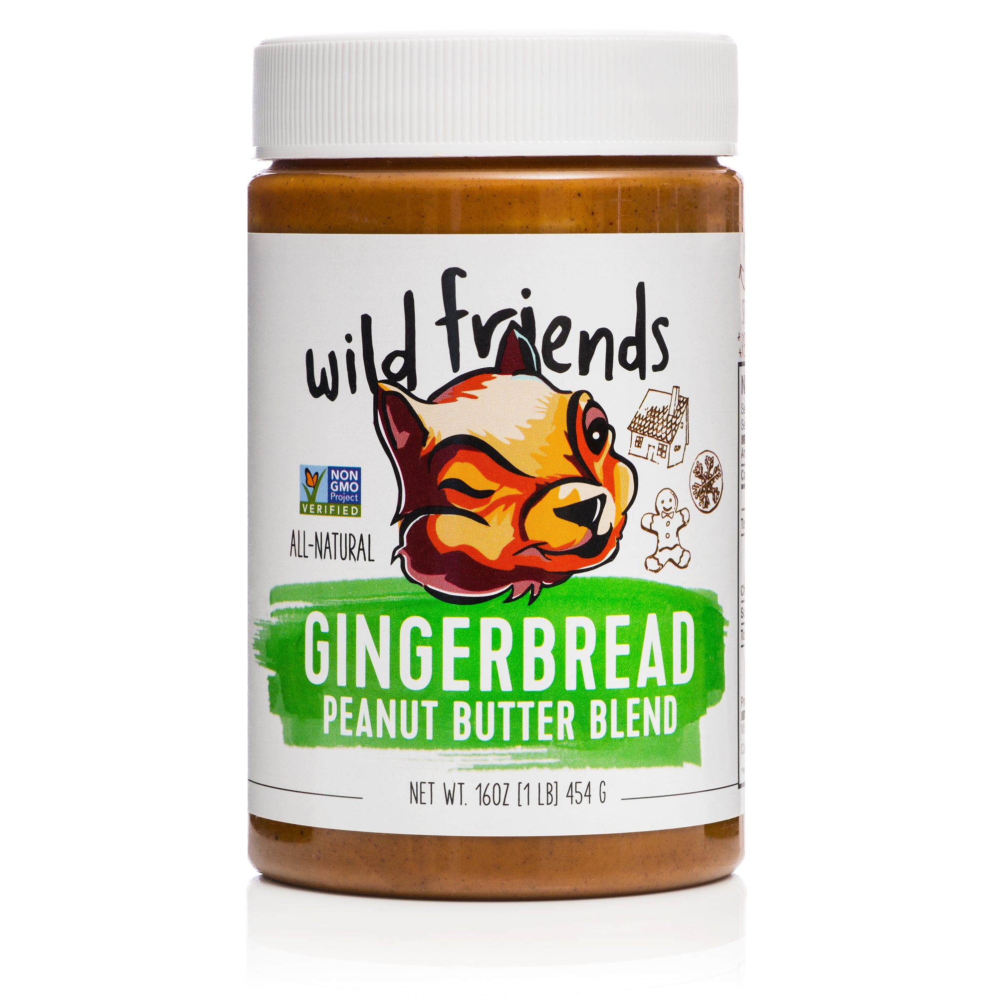 3-Pack Gingerbread Peanut Butter