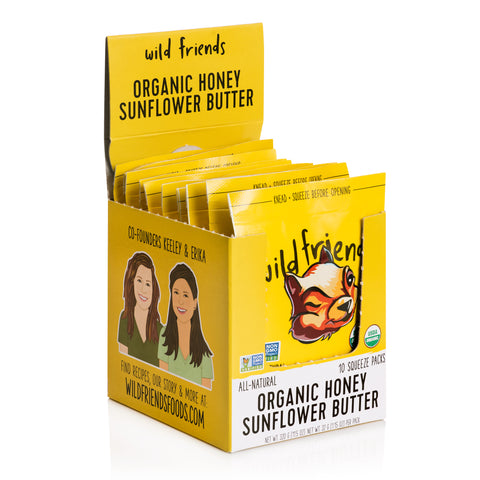 Organic Honey Sunflower Butter Packets