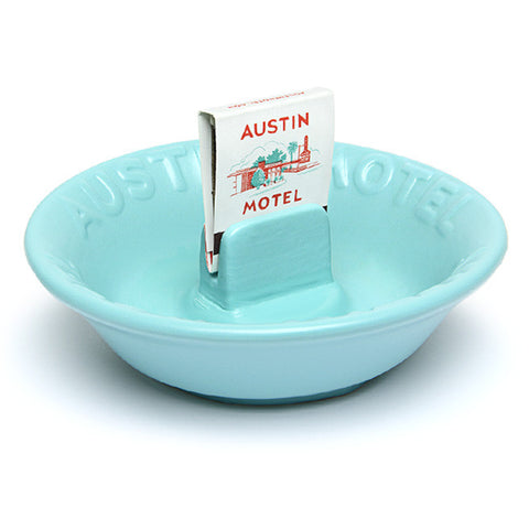 Ceramic Motel Ashtray