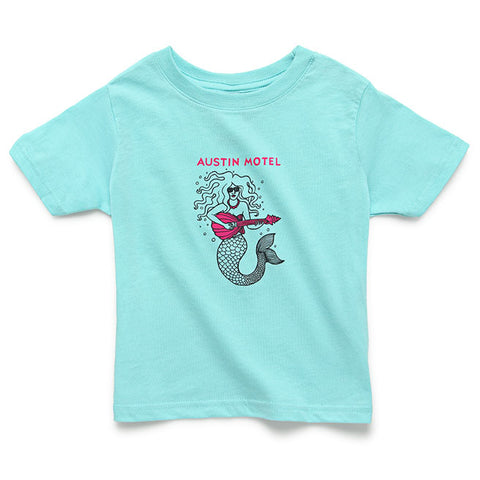 Austin Motel Mermaid Kids Tee