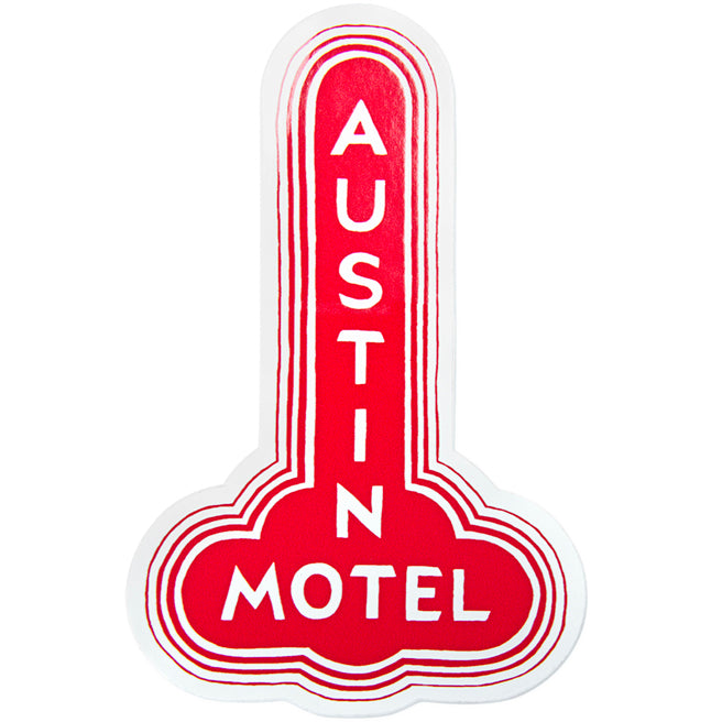 Austin Motel Sticker