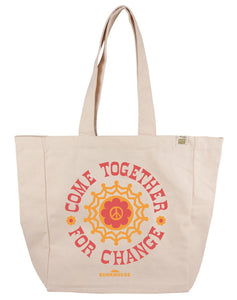 """Come Together for Change"" Tote Bag"
