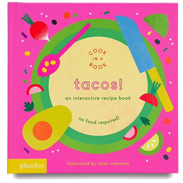Tacos, an interactive recipe book