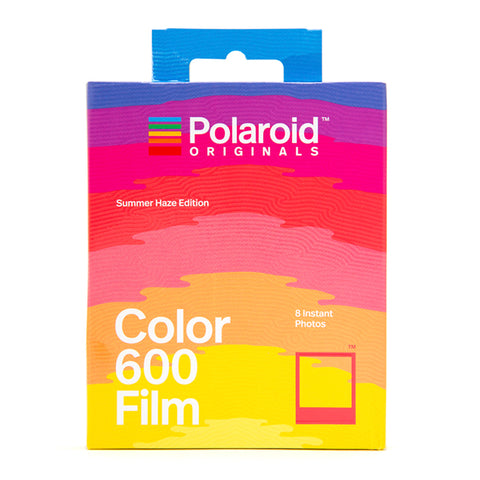 Polaroid Summer Haze Color Film 600