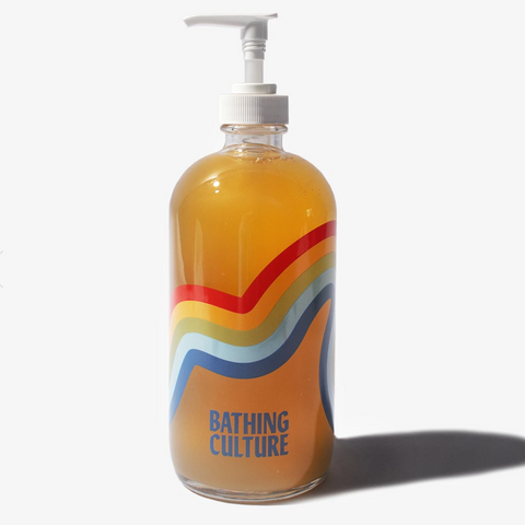 Bathing Culture Mind & Body Wash Refillable Glass
