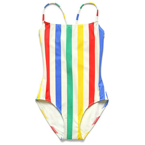 Nina One Piece Primary Stripe