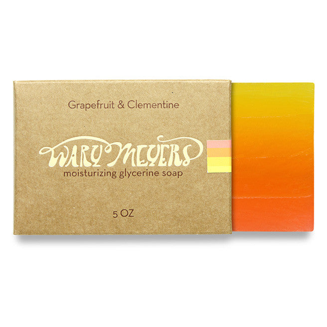 Wary Myers Grapefruit & Clementine Soap