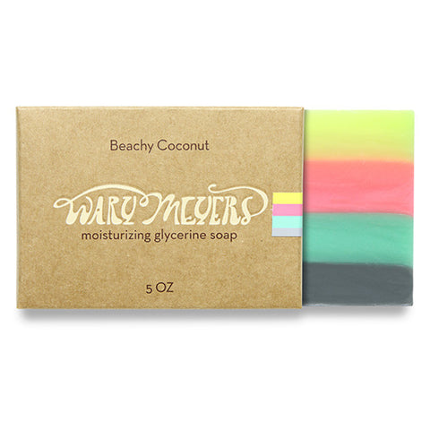 Wary Myers Beachy Coconut Soap
