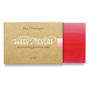 Wary Meyers Pink Champagne Soap