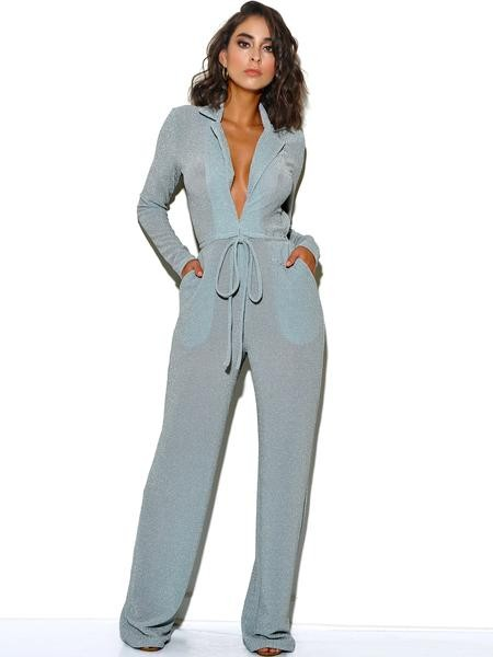 Mesh, sheer jumpsuit