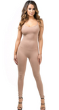 Sale-One piece with spaghetti straps - Clearance