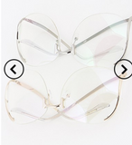 Sale-Clear upside down sunglasses