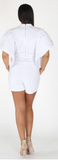 Sale-White Romper
