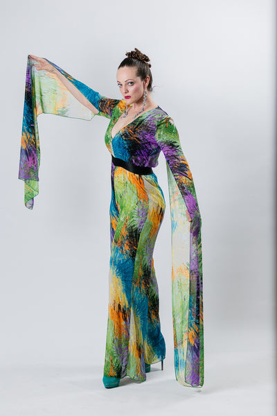 Sale- Goddess Jumpsuit - Clearance