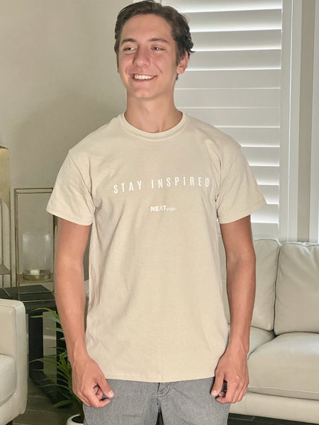 Men's T-shirt - Stay Inspired