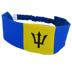 Barbados Flag Headband