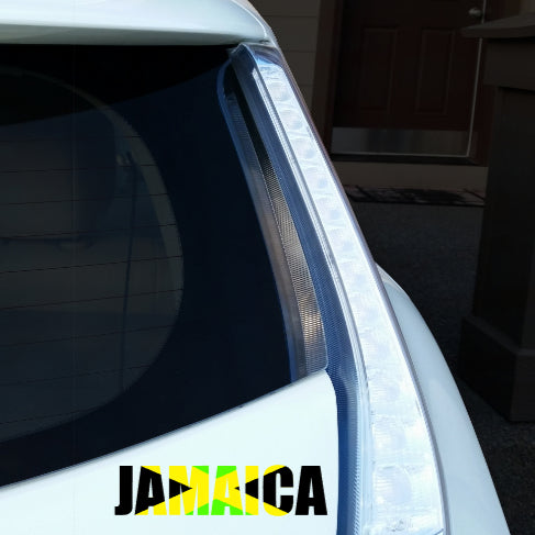 Jamaica Name Car Decal