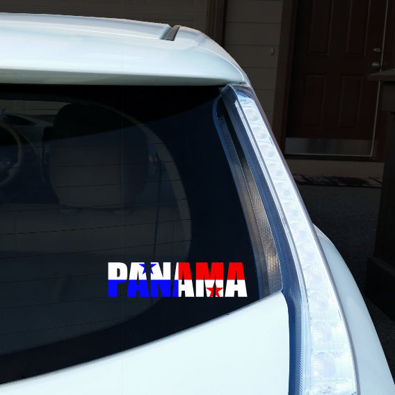 Panama Name Car Decal
