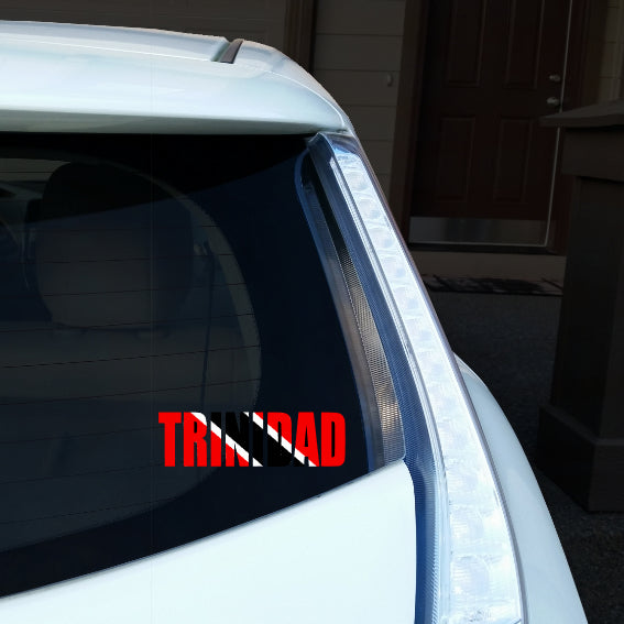 Trinidad Name Car Decal