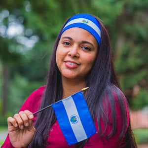 El Salvador Flag Headband