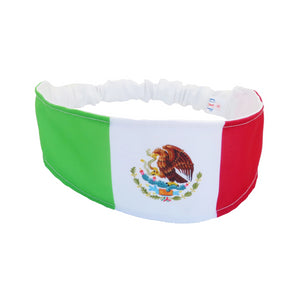 Mexico Flag Women Headband