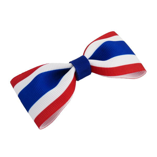 Thailand Flag Hair Bow