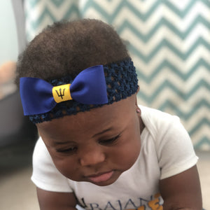 Barbados Flag Crochet Headband