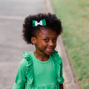 Nigeria Flag Hair Bow
