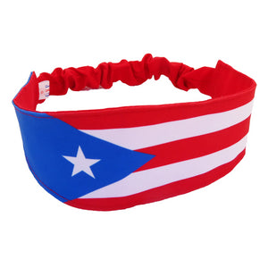 Puerto Rico Flag Headband