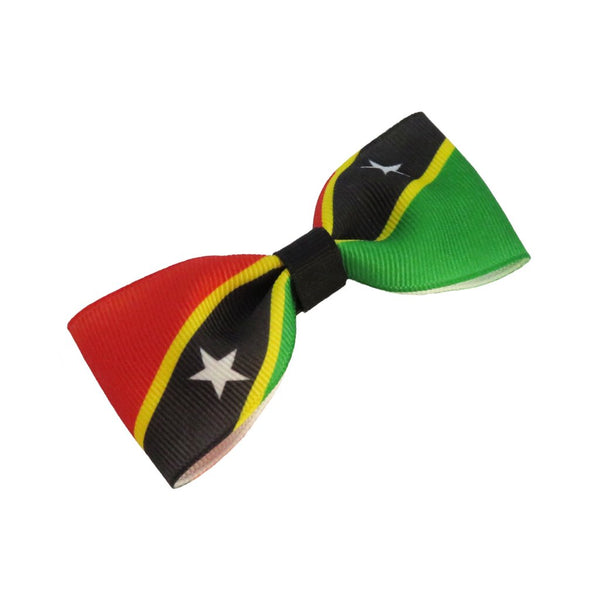 St Kitts and Nevis Flag Hair Bow