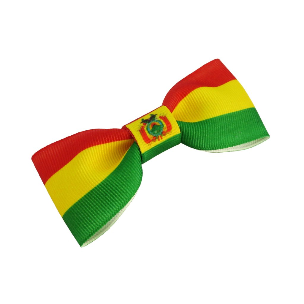 Bolivia Flag Hair Bow