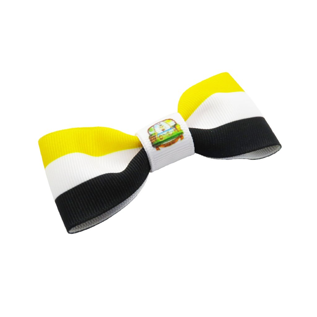 Garifuna flag hair bow